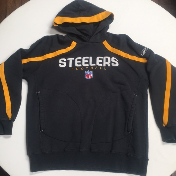 best service 681c9 89374 Embroidered Steelers jacket